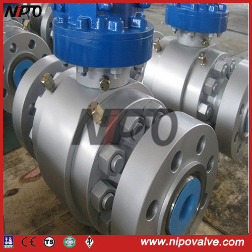 API 6D Forged Steel Flanged Trunnion Ball Valve (Q47F)