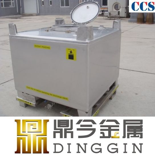 China Top Designers Make Stainless Steel IBC Tote Tank in