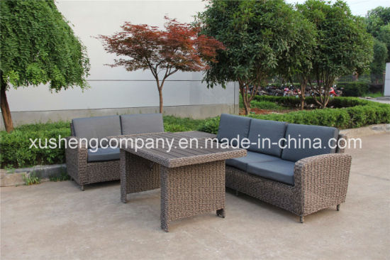 china top quality synthetic rattan outdoor garden furniture cornor