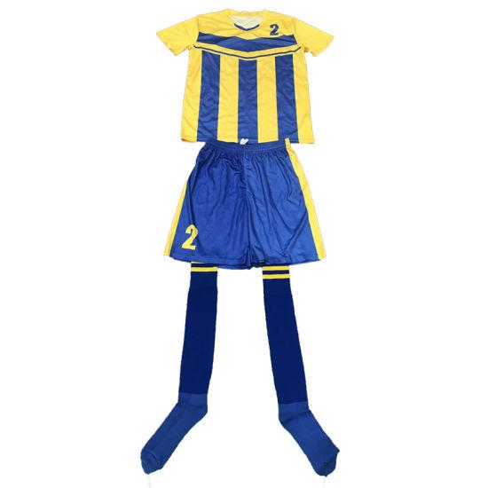 Soccer Club Soccer Jerseys New Design Soccer Uniform for Boys