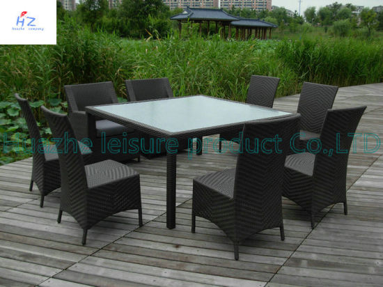 China Hot Sale Outdoor Rattan Furniture Chair Table Home Garden