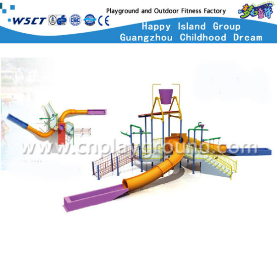 Water Slide with Simple Structure and Cheap Water Park (HD-6602) pictures & photos