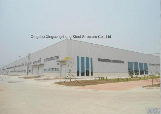 Steel Frame/Steel Structure Prefab Workshop/Prefab Steel Warehouse (JW-16204)