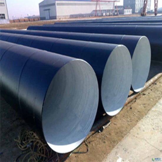 API 3PE Cooated Spiral Welded Line Pipe for Water Gas pictures & photos