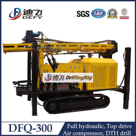 Air Pressure DTH Impactor Bore Well Rock Drilling Rigs Dfq-300