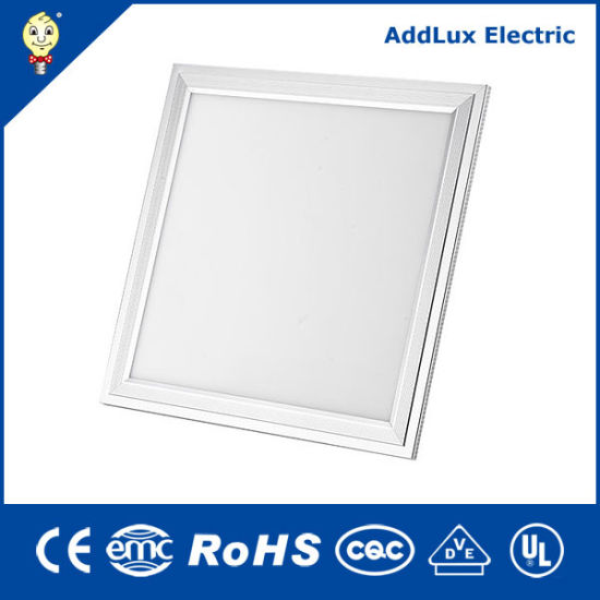 Best Distributor Saso Ce UL Square Round 18W Energy Saving LED Panel Light Made in China for Ceiling, Office, Store, Museum, Library, Classroom Lighting