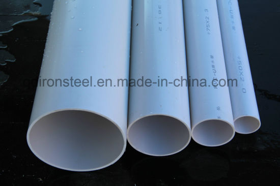 High Quality PVC Water Pipe pictures & photos