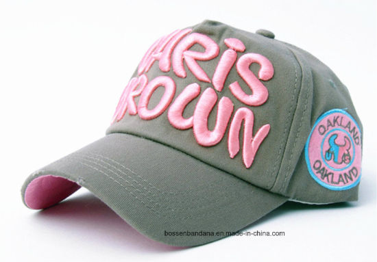 OEM Produce Customized Logo Applique Embroidered Promotional Cotton Baseball Cap pictures & photos