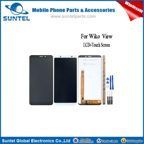 for Wiko View LCD Display and Touch Screen Assembly Repair Part 5.7 Inch Mobile Phone Accessories pictures & photos