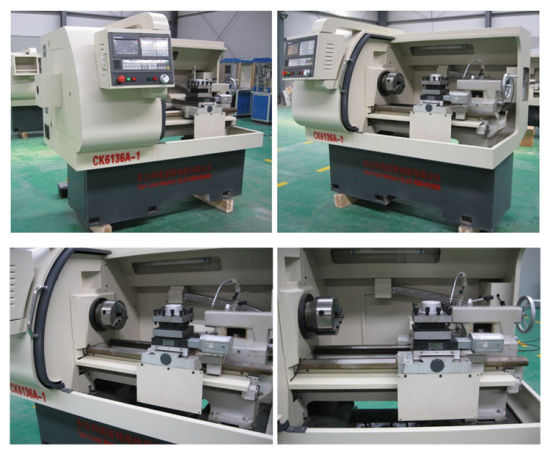 OEM Customized New Chinese CNC Lathe Ck6136 pictures & photos