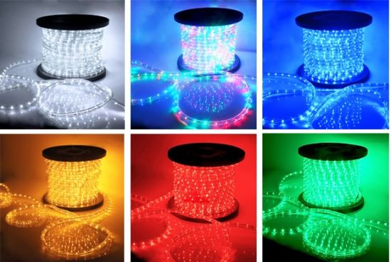 Muliple Color LED Rope Light with Good Quality pictures & photos
