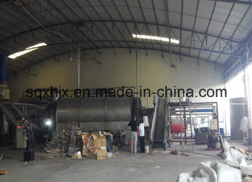 Pyrolysis Plant for Tire Recycling 12tpd pictures & photos