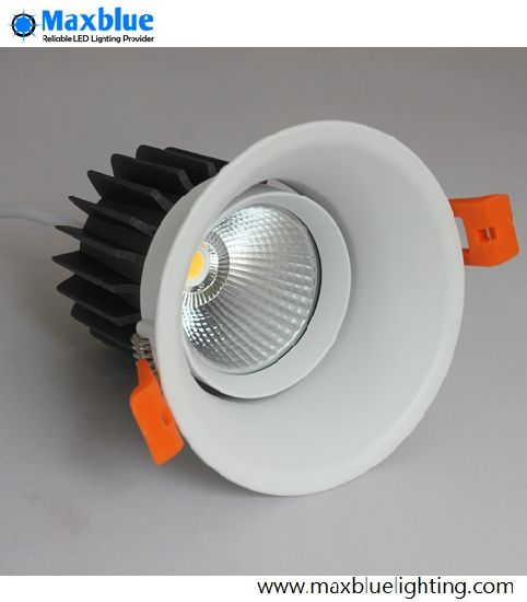 China Cob Cree Adjule Dimmable Recessed Ceiling Led Down