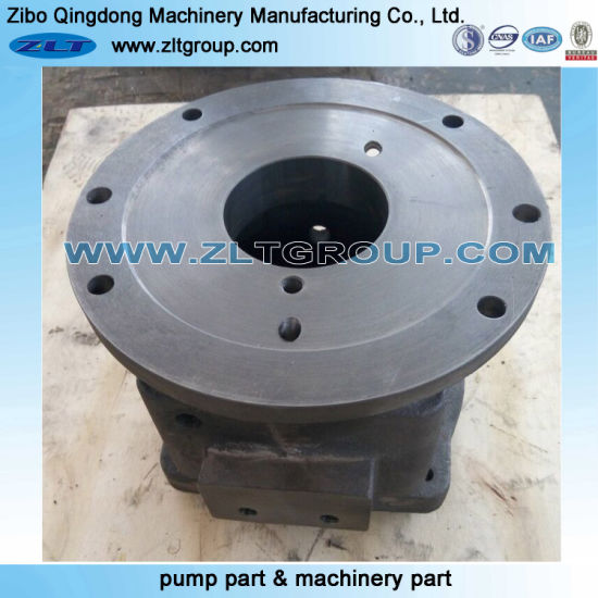 China Goulds Pump 3196 Ductile Iron Bearing Frame for Sand Casting