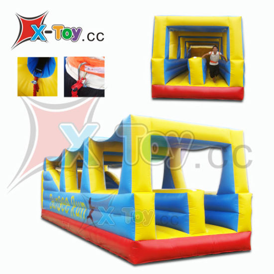 Interactive Sport Game Inflatable Bungee Run (CH-ISG4005)