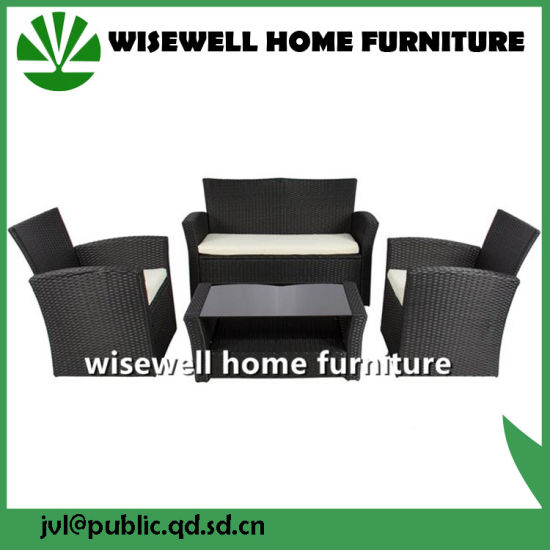 China Outdoor Patio Garden Furniture Wicker Rattan Sofa Set (WXH-029 ...