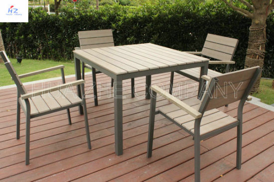 China Plastic Wood Outdoor Furniture Park Furniture - China Plastic ...