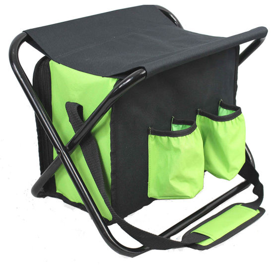 Backpack Folded Chair Cooler Bag for Fishing pictures & photos