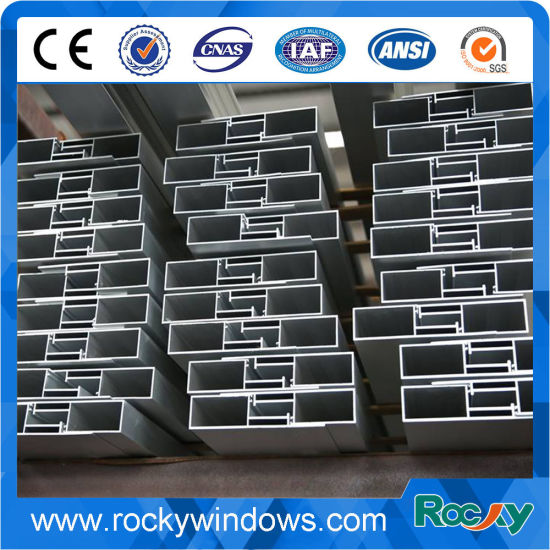 Rocky Durable in Use Good Quality Aluminum Extrusion Profile for Curtain Wall pictures & photos