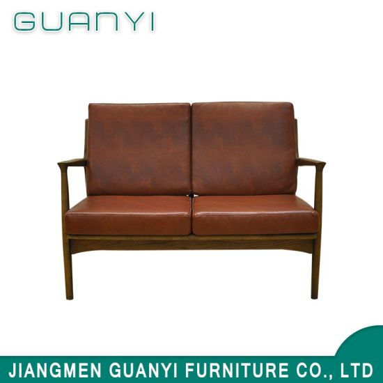 Clic Famous Leisure High Quality Chair Sofa With Wooden Legs
