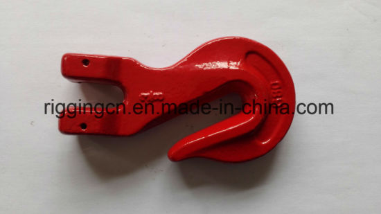G80 Red Painted Clevis Grab Hook for Chain Lifting pictures & photos