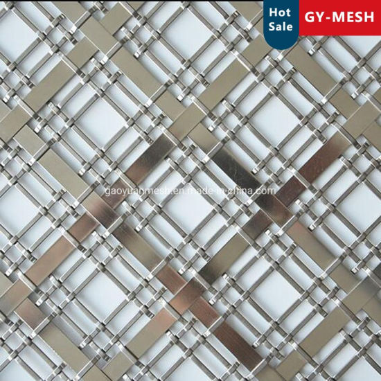 Stainless Steel / Alumiun /Copper Woven Mesh/Decorative Mesh/Mesh Fence