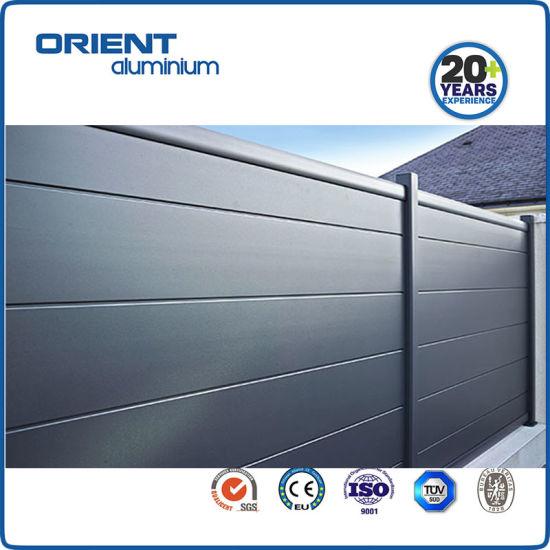 Aluminium Fence Panel Aluminium Garden Fence China Factory