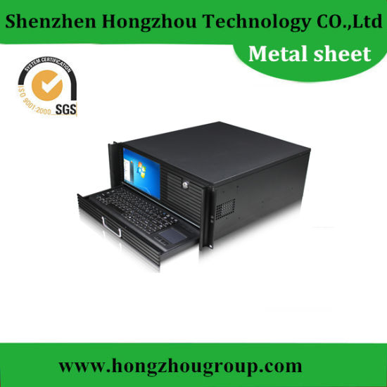 Wholesale High Precision Metal Fabrication Parts with Black Anodizing