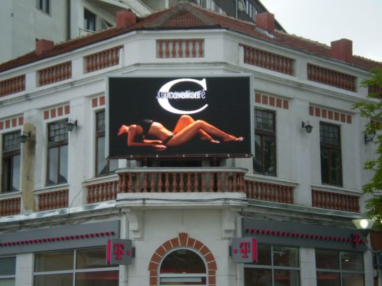 640 Cabinet P10 Outdoor LED Display