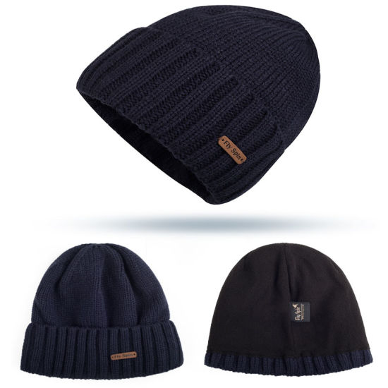 100% Acrylic Material and Adults Age Group Custom Patch Winter Beanies Hat ac6b36d3471f