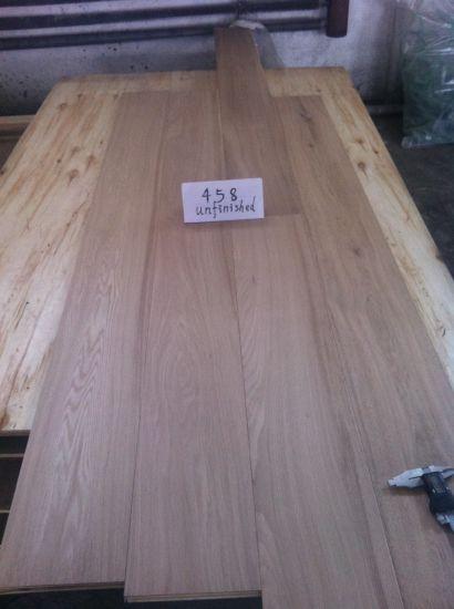 China 3 Layers Tg Unfinished Oak Parquet Wood Flooring China