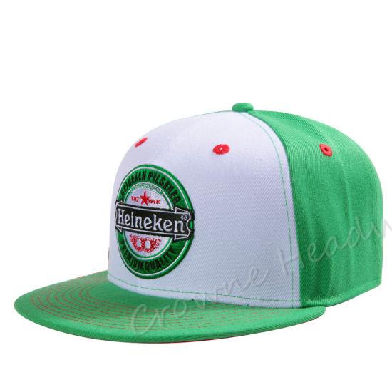 8a904f8244397 China Promotional Snapback Flat Brim Custom Summer Trucker Cap Hat ...