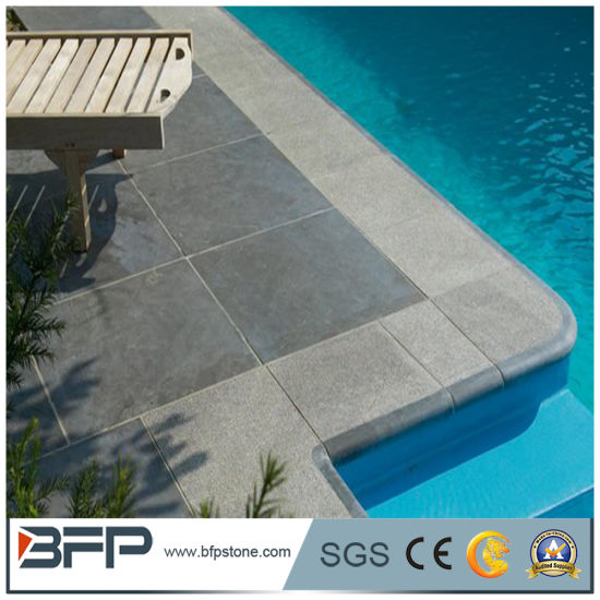 Good G654 Dark Grey Granite Swimming Pool Coping Stone