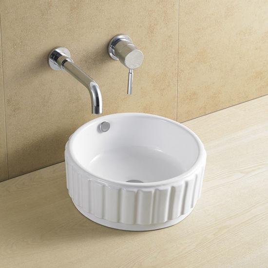 China Bathroom Hot Sale Square Shallow Sink To European Market China Basin Bathroom Basin