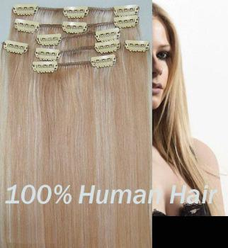 Hotselling Best Curly Remy Human Clips in Hair Extension (PPG-l-0085) pictures & photos