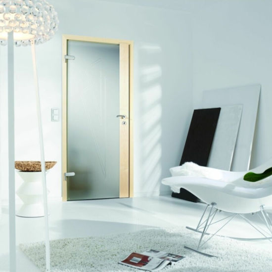 China Classic White Pvc Wooden Doors Solid Core Door China