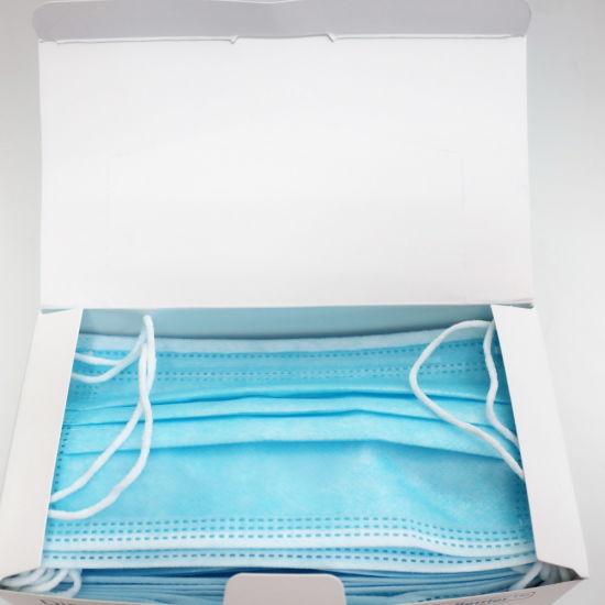 Wholesale Comfortable Disposable Three-Layer Mask Non Woven Face Mask Facial Mask