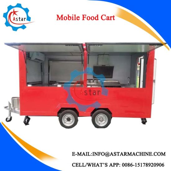 Sell Durable Use Fast Food Cart pictures & photos