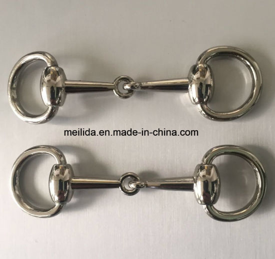 Sliver Color Metal High Quality Chain Buckles for Man Shoes