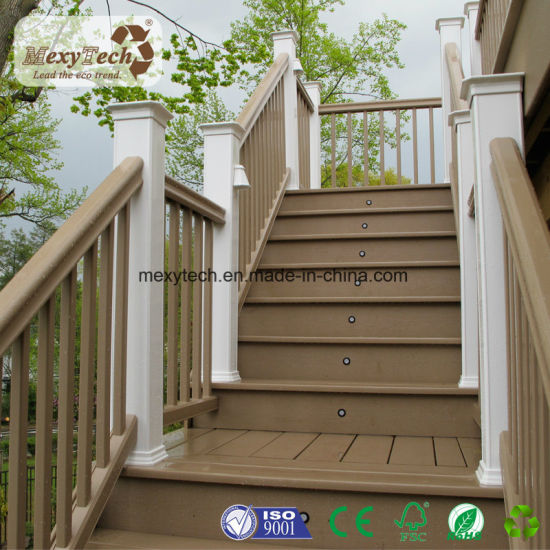 New Technology Co-Extrusion Hollow Decking 140*23mm pictures & photos