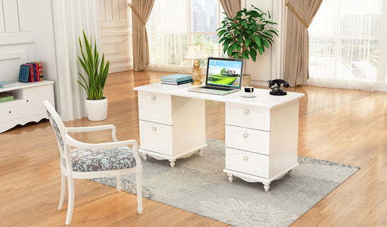 Modern Wooden Study Table Living Room Used Computer Desk