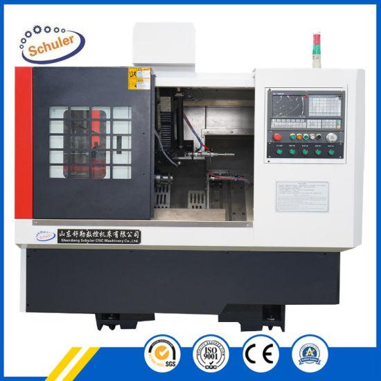 CNC Turning Machine with Slant Bed, CNC Turning Lathe for Metal (TCK6340)