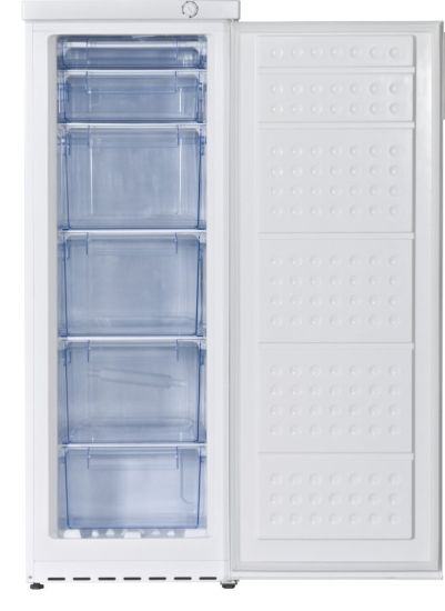 280L Mechanical Home Upright Vertical Freezer with Aluminum Outside Evaporator