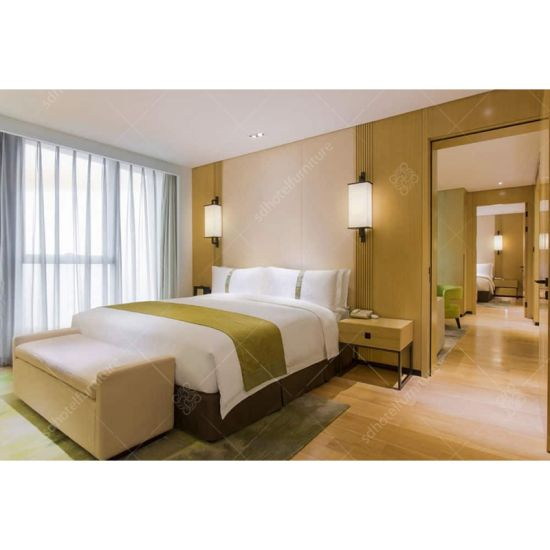 China Modern Simple Style Bedroom Set of Hotel Furniture - China ...