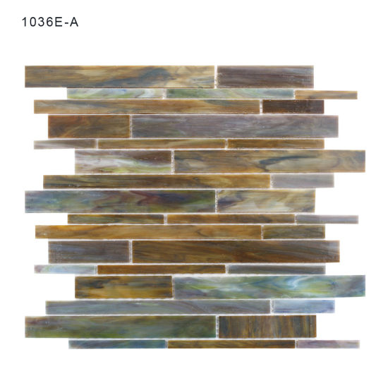 China Unique Design Bathroom Wall Glass Mosaic Tiles For Hot