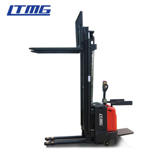 Warehouse Lifting Machine 1ton 1.5ton 2ton 2.5ton 3ton Electric Pallet Stacker with Optional Lithium Battery