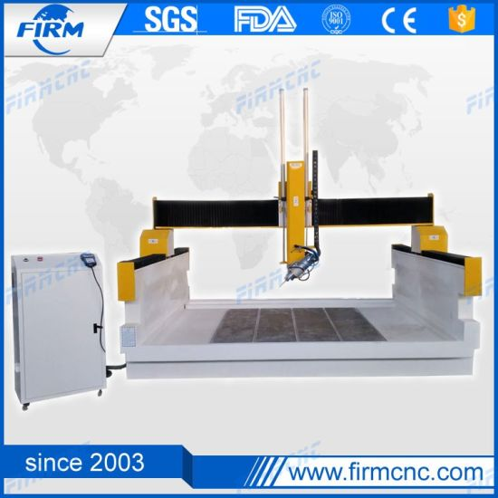 China Atc CNC Woodworking Machine 4 Axis Router with 9 Kw Hsd Spindle