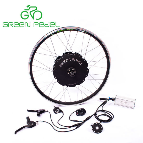 China Greenpedel 36v 500w 48v 750w Electric Bike Gearless Hub Motor