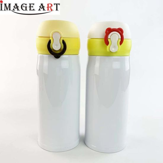 320ml Stainless Steel Vacuum Bottle/Flask for Sublamation Printing