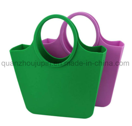 OEM Silicone Candy Colorful Beach Handbag Bag pictures & photos